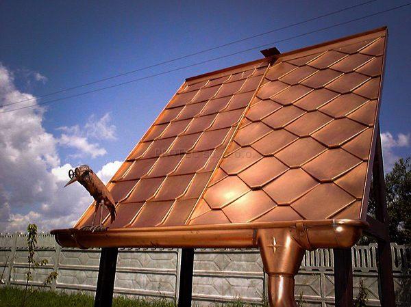 Pokrycia dachowe wykonane zblach