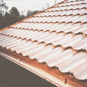 Panele miedziane pokrycie dachu