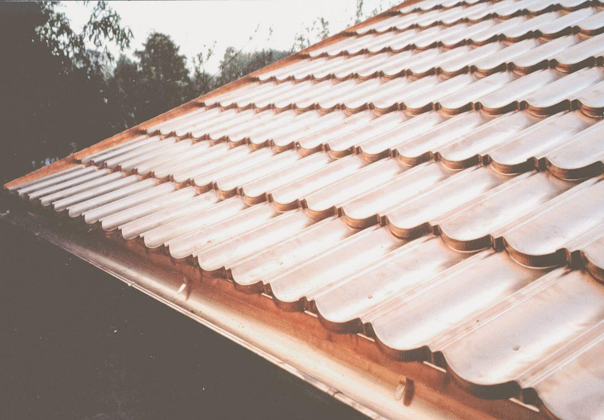 Panele dachówki zmiedzi