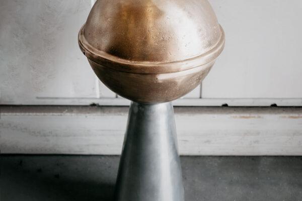 Kula Dachowa - proces piaskowania