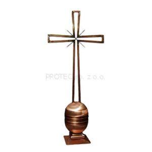 Metaloplastyka - Krzyż miedziany