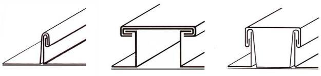 Elementy pokrycia dachu - pasy pokryciowe 2