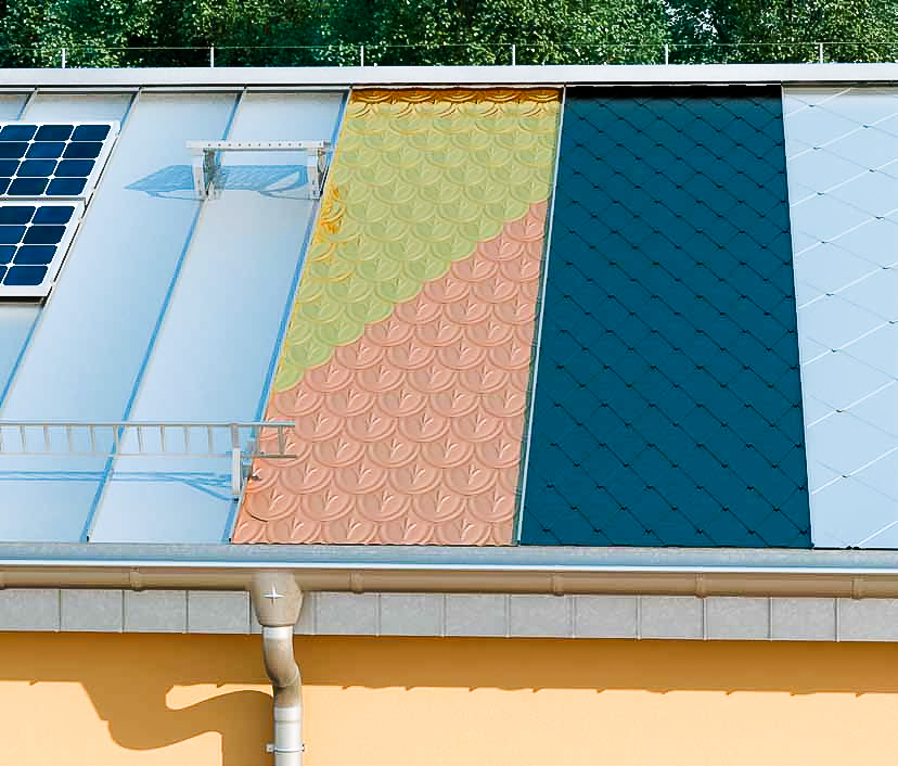 Pokrycia dachowe wykonane zblach 1
