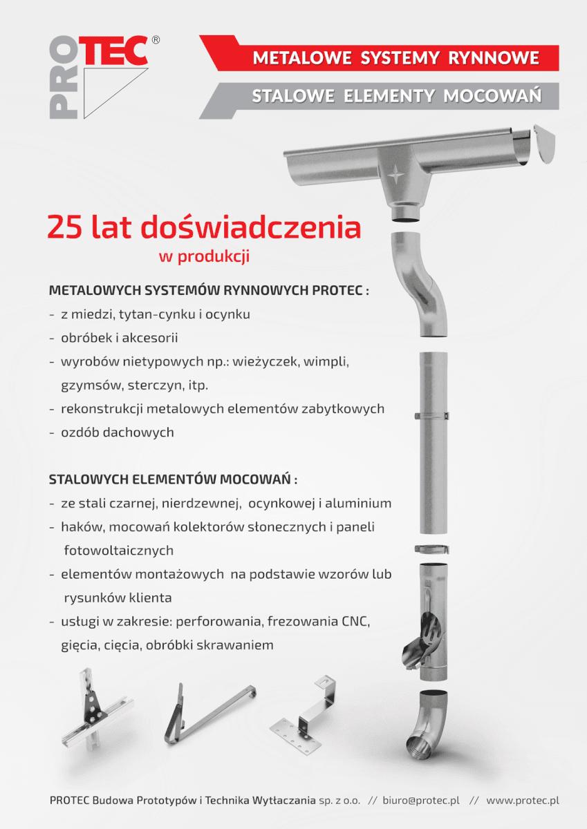 Firma PROTEC Sp. zo.o. ma już 25 lat!