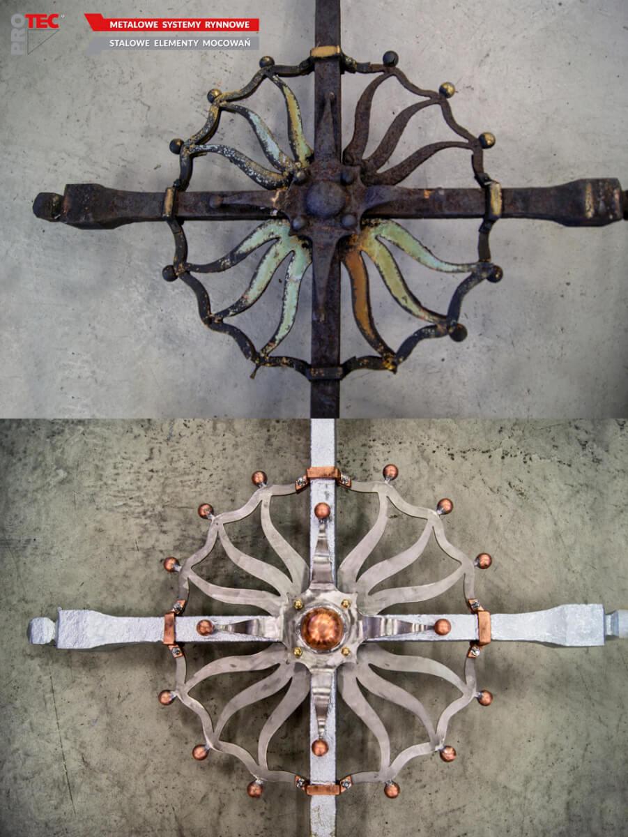 Renowacja obiektów sakralnych - Kościół Piotra iPawła wOpolu - krzyż