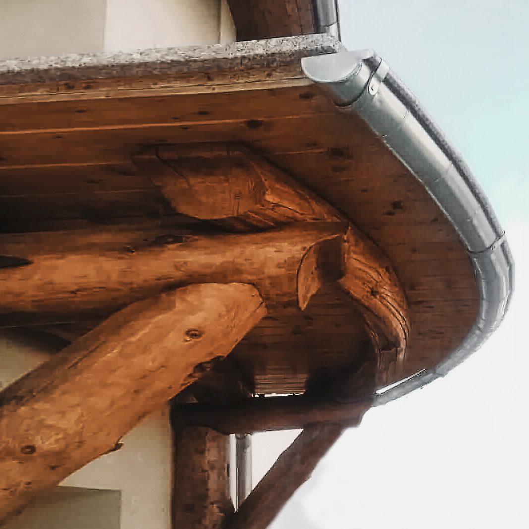 Rynna na balkon
