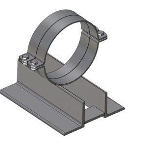 Obejmy stalowe Podpory rurociągów - element bazowy