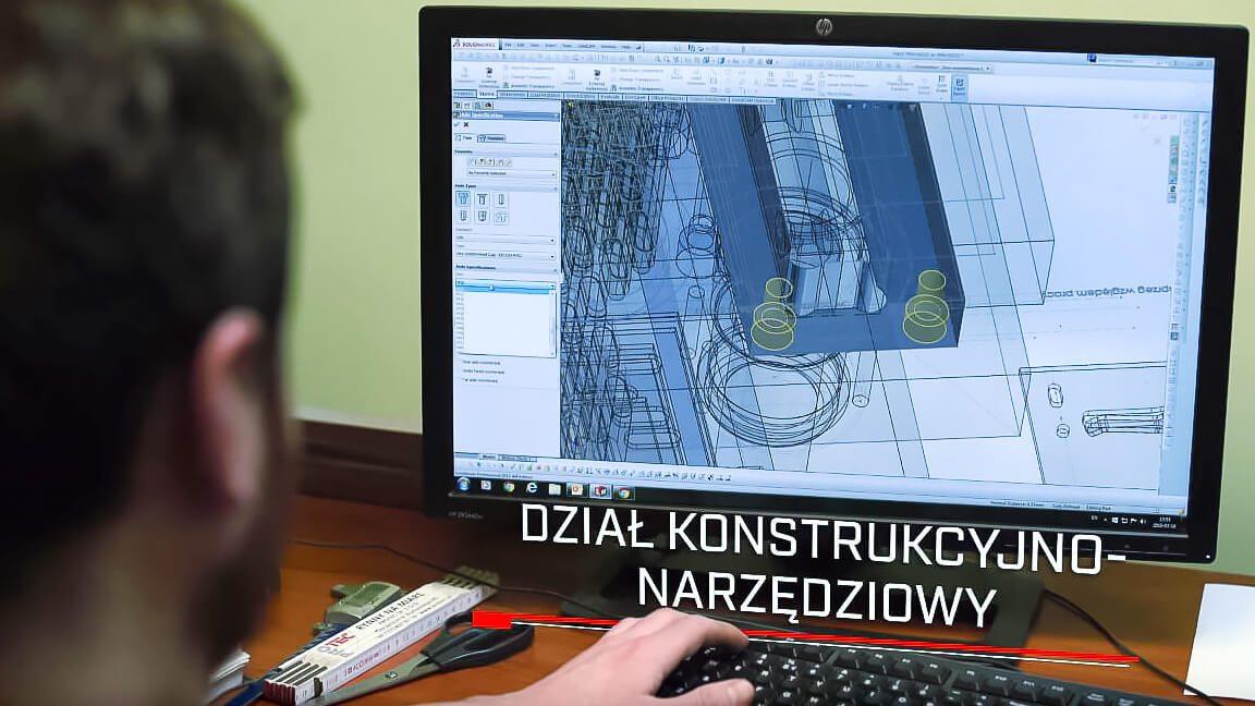 Protec Sp. zo.o. Dział konstrukcyjno-narzędziowy