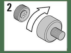 Montaż - Śruba adapter fasadowy M10