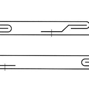Przekroje przez dylatacje: a), b) różne rozwiązania
