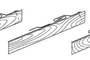 Fazy wykonania rąbka leżącego podwójnego
