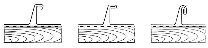 Fazy zaginania rąbka stojącego podwójnego