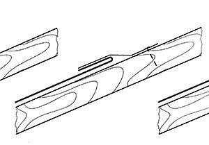 Fazy wykonania połączenia na rąbek leżący pojedynczy