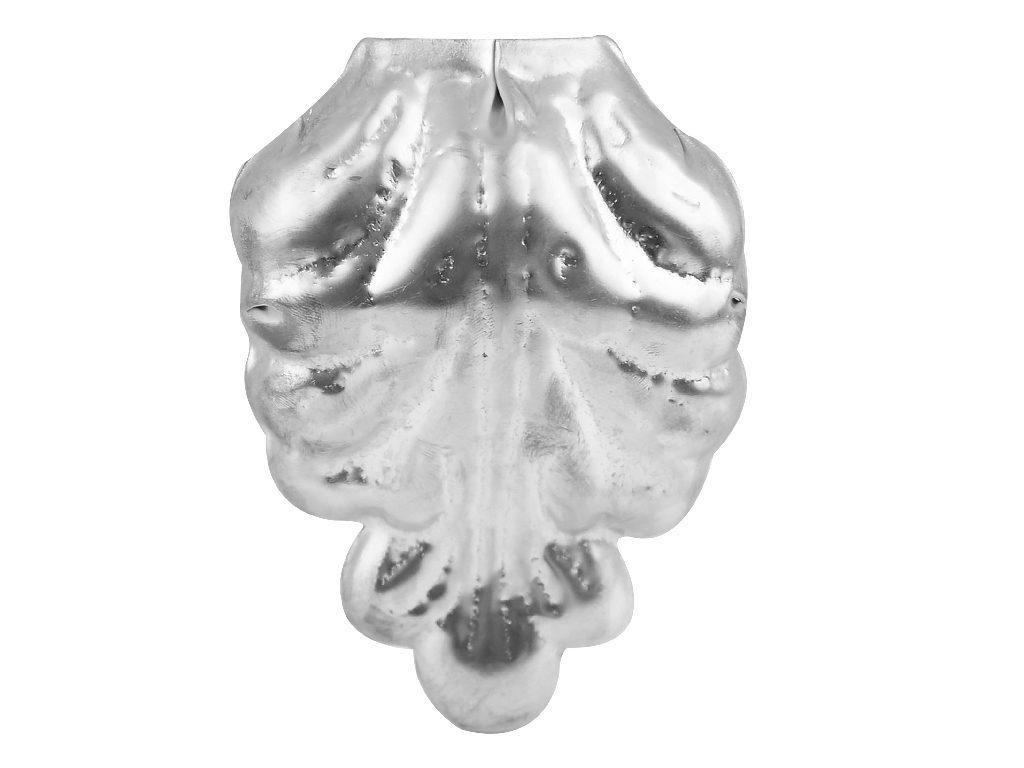 Ozdobny liść akantu wykonany ztytan-cynku