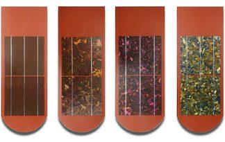 Dachówki fotowoltaiczne kolorystyka, kolory