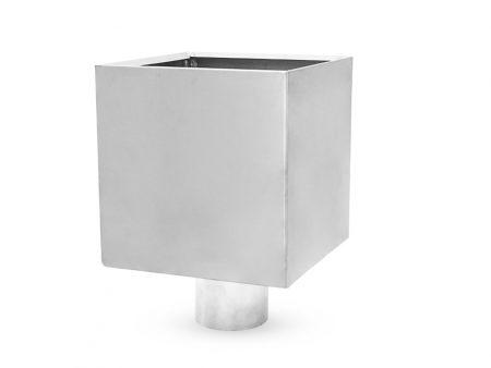 Kwadratowy kosz zbiornik zlewowy - NedZink NATUREL