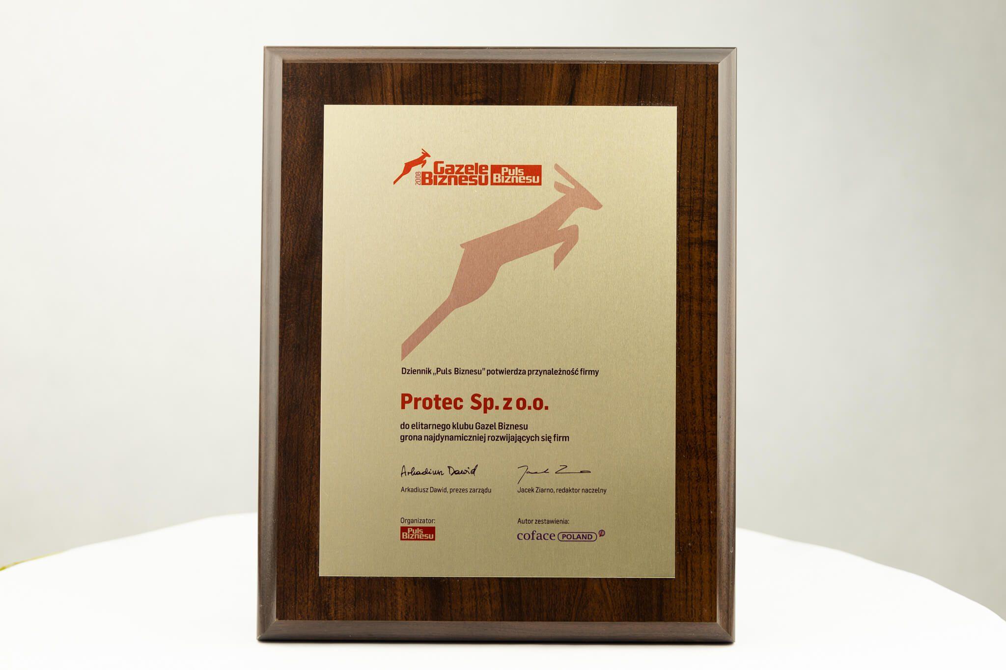 Protec Gazele Biznesu 2008