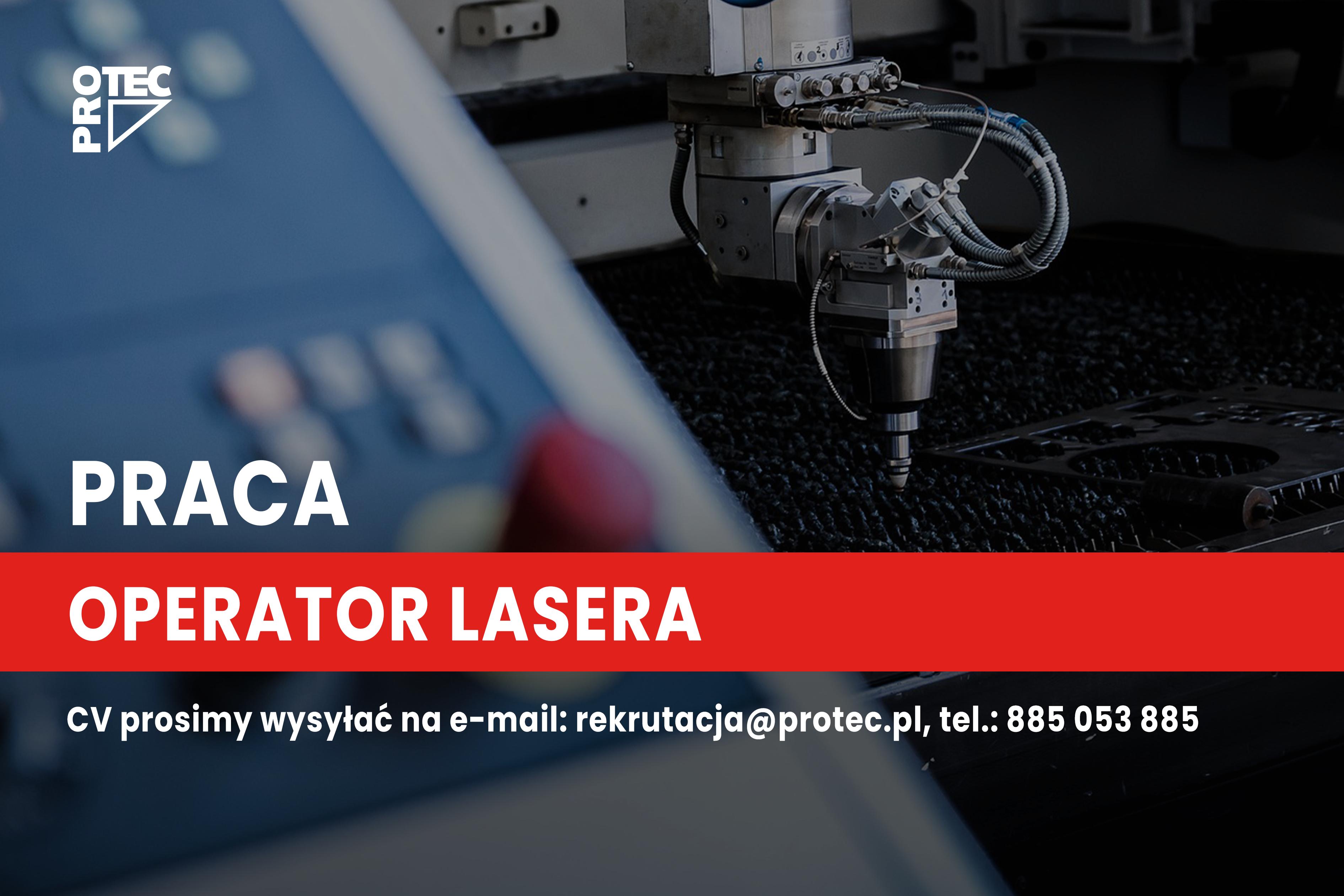 Operator lasera