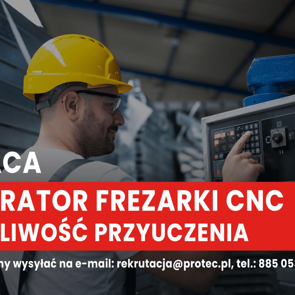 Operator frezarki CNC - także do przyuczenia 3